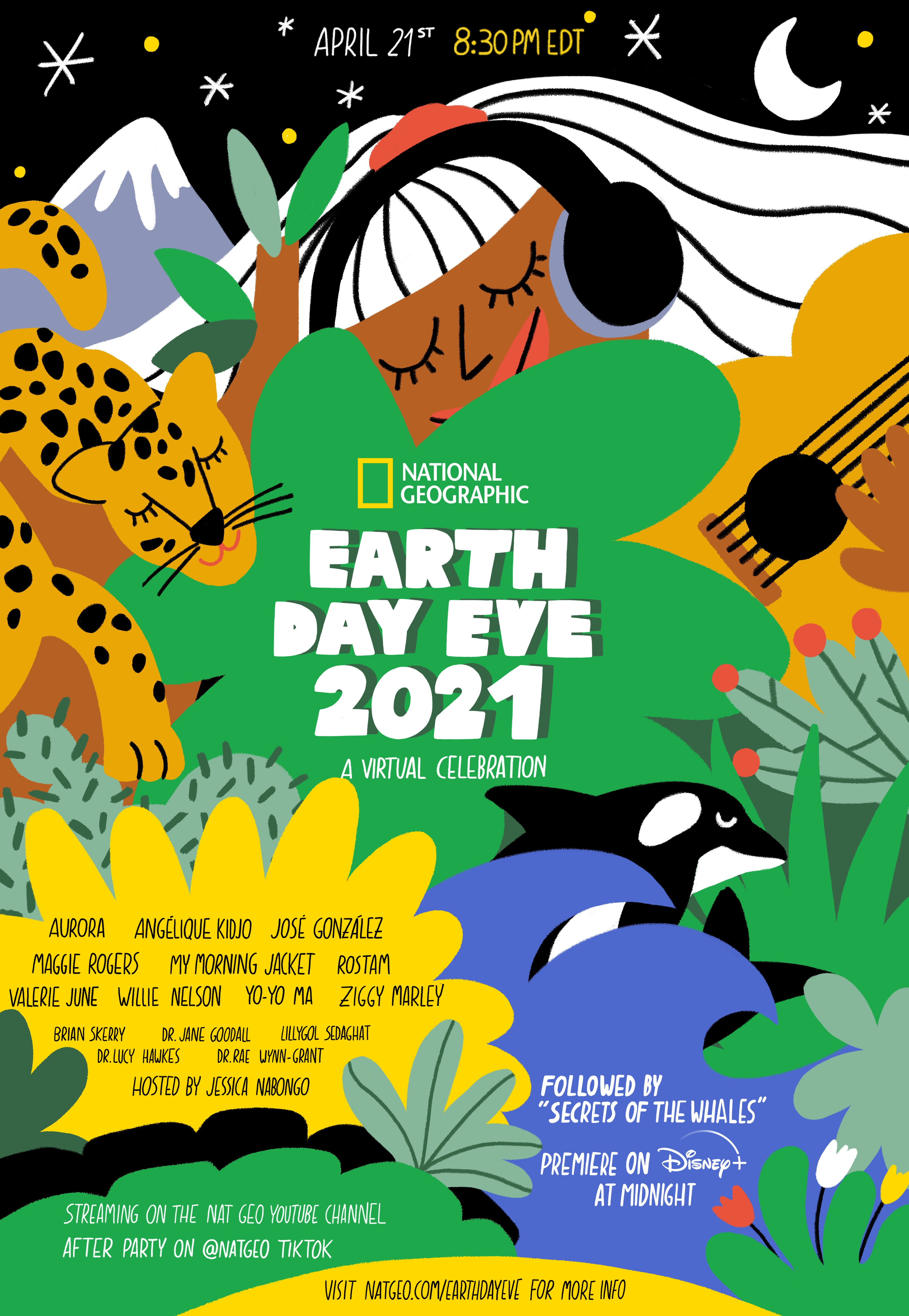 National Geographic - Earth Day Eve Poster Details
